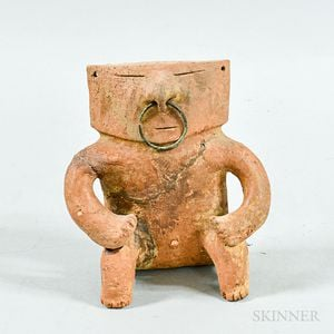 Quimbaya-style Seated Terra-cotta Figure
