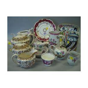 Nineteen Pieces of Miscellaneous English Ceramics