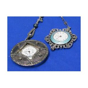 Two Woman's Pendant Watches