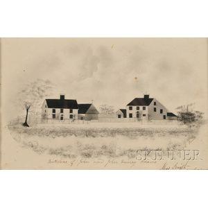 American School, 19th Century      Birthplace of John and John Quincy Adams