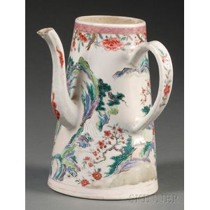 Chinese Export Coffeepot