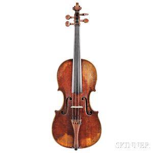 German Violin, Mathias Hornsteiner, c. 1800