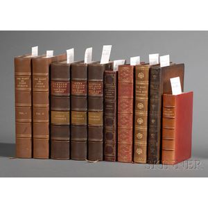 (Decorative Bindings, Nine Titles in Ten Volumes)