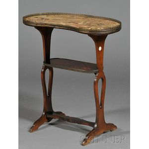 Louis XVI-style Kidney-shaped Occasional Table