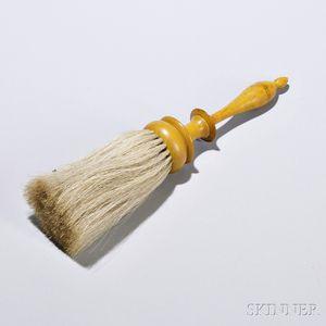 Shaker Chrome Yellow-painted Brush