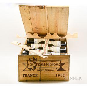 Chateau Figeac 1982, 12 bottles (owc)