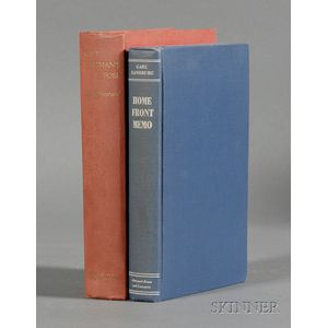 Sandburg, Carl and MacLeish, Archibald, Presentation Copy