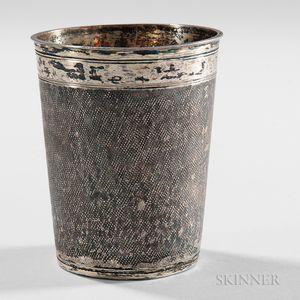 German Silver-gilt Beaker