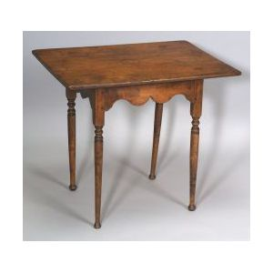 Queen Anne Maple and Pine Tea Table