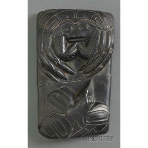 Northwest Coast Argillite Carving