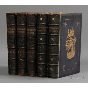 (Picturesque Views), Two Titles in Five Volumes