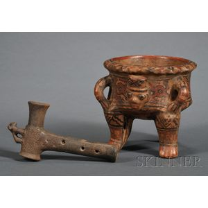 Two Pre-Columbian Pottery Items