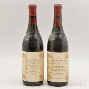 Mascarello Barbaresco Bernardotti 1978, 2 bottles