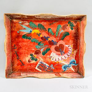 Peter Hunt Decorated Tray