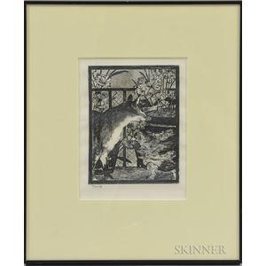 Édouard Manet (French, 1832-1883)      Le Chat et Les Fleurs