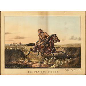 Nathaniel Currier, Publisher (American, 1813-1888)    The Prairie Hunter
