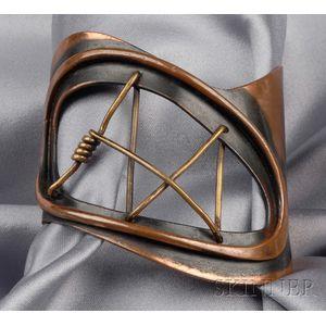 Artist-designed Copper Cuff, Art Smith   Sale Number 2510 ...