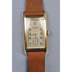 14kt Gold Wristwatch, Raymond Yard