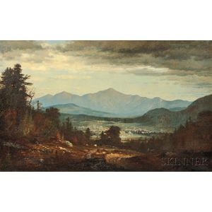 John Joseph Enneking (American, 1841-1916)      Across the Valley