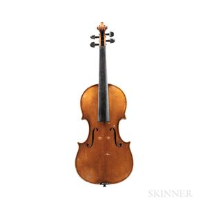 German Violin, Wenzel Fuchs, Eltersdorf, 1974