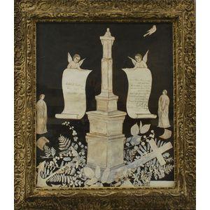 Framed Chalk Memorial for Ethel G. Conkling