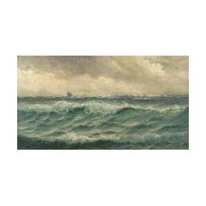 Theodore Victor Carl Valenkamph (American, 1868-1924)  Stormy Seas
