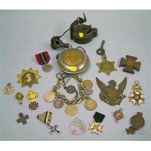 Group of Assorted Collectible Metal Items