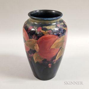 Moorcroft Pottery Pomegranate Design Vase