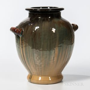 Fulper Pottery Arts and Crafts Handled Vase