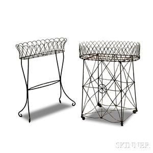 Two Wire Plant Stands