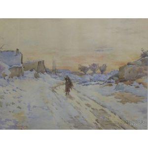 J. Ambrose Prichard (American, 1858-1905)      Headed Home