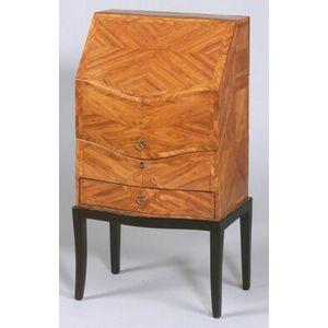 Louis XV-style Tulipwood Slant-lid Box