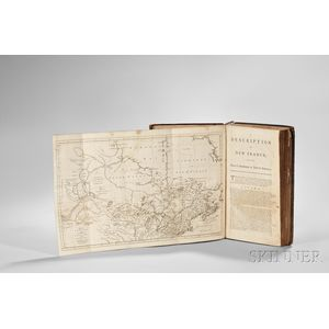 Jefferys, Thomas (c. 1719-1771) The Natural and Civil History of the French Dominions in North and South America, Sir William Johnsons