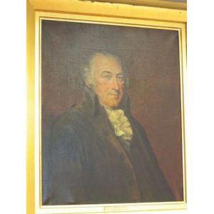 Framed Oil Portrait of General Artemis Ward.
