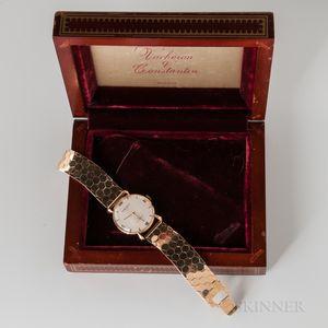 Vacheron & Constantin 14kt Gold Wristwatch