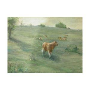 Francis Day (American, 1863-1942)  Cows at Pasture.