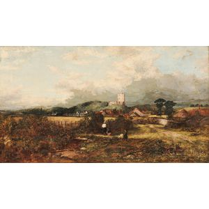 Thomas Clark (British, c. 1814-1883)      The Border Neck of Norham Castle