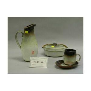 Peter Pots Contemporary Glazed Pottery Dinnerware.