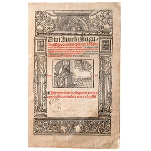Augustine of Hippo, Saint (354-430 AD) De Civitate Dei.