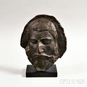 Cast Resin Paul Gauguin Death Mask