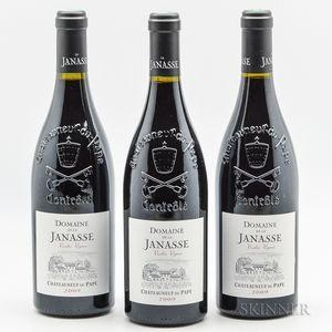 Domaine de la Janasse ChateauneufduPape Vieilles Vignes 2009, 3 bottles