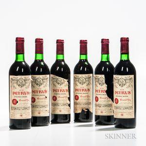 Chateau Petrus 1976, 6 bottles