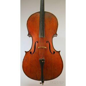 Modern Italian Violoncello, Nicola Utili, Castelbolognese, 1913
