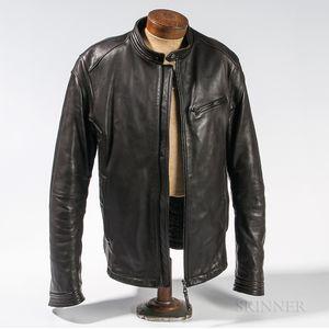 Prada Leather Motorcycle Jacket