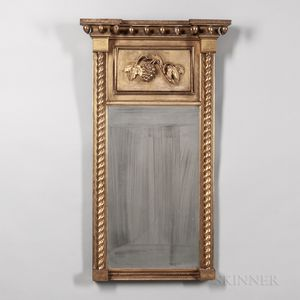 Gilt-gesso Mirror