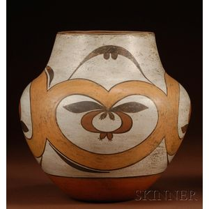Southwest Painted Pottery Bowl