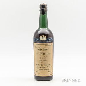 Justino Henriques Bual Solera 1900, 1 bottle