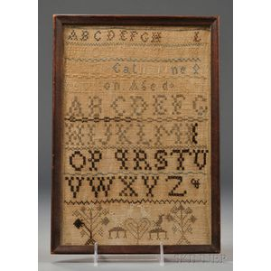 Shaker Needlework Sampler