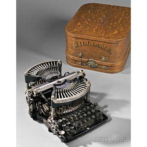 "Williams No. ""1"" Straight Typewriter"