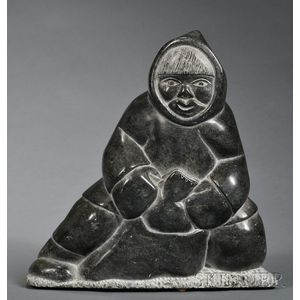 Contemporary Inuit Soapstone Carving